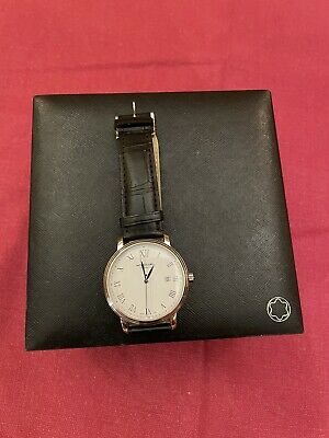 Orologio Montblanc Tradition Automatic Date 112609 Usato 3 Mesi Scatola Watch