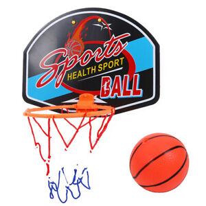 Mini Basketball Hoop with Net Ball Pump Set Indoor Kids Adult Backboard Game UK