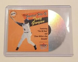 2001 Fleer Ultra Tony Gwynn #9 Greatest Hits Die-Cut Short SP Insert Padres HoF