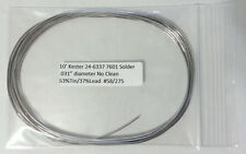 "10 Feet of Kester Solder .031"" 63/37 No Clean 24-6337-7601 -Buy2Get 1 FREE -NEW-"