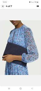 BODEN Women's Bury Clutch Bag NAVY A0437 BRAND NEW