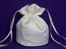 Ivory Duchess satin dolly bag for bride/bridesmaid/ evening wear