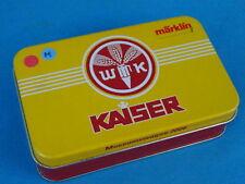 Marklin Museumwagen 2006 KAISER WMK Tin Plate Box Z Mini club