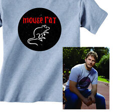 MOUSE RAT BAND T-Shirt from Parks and Recreation TV show Chris Pratt Andy Dwyer