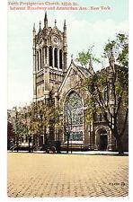 WASHINGTON HTS NORTH PRESBYTERIAN CHURCH, B'WAY, AMSTERDAM & 155TH ST. NYC