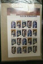 More details for  usa voices of the harlem resistance stamp sheet of 20 mnh usps forever