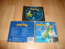 PETER PAN DE WALT DISNEY MUSIC CD BANDA SONORA ORIGINAL SOUNDTRACK EN ESPAÑOL