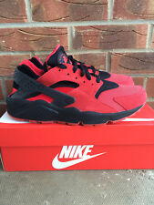 Nike Air Huarache 'Love Hate Pack' University Red & Black UK Size 9