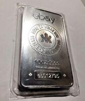 RCM & eBay 10 oz .9999 Fine Silver Bar