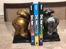 Lot Of 3 Dog Man Hard Cover Children's Books (B3)