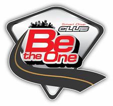 "Be The One Smart Drive Car Bumper Sticker Decal 5"" x 5"""