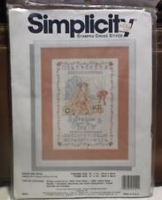 Simplicity Sugar and Spice Cross Stitch Kit 10 in. x 14 in. Great craft project