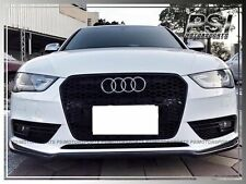 Audi A4 S4 B8.5 2013-2015 Facelift Model Only P Style Carbon Fiber Front Lip