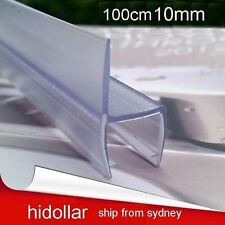 PVC PLASTIC SHOWERSCREEN SHOWER SCREEN DOOR WATER SEAL STRIP LINING FOR 10mm 1M
