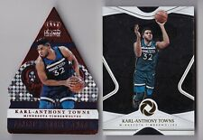 (2) Lot Karl Anthony-Towns Panini Opulence Base Parallel /39, Crown Royale /75