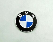 Aluminum Emblem for Nardi Classic Steering Wheel Horn Buttons 24mm Flat BMW Logo