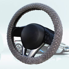 1x Car Auto Steering Wheel Cover New Thickening Durable Great Winter Warmer Set