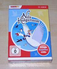 Nils Holgersson la Serie Completa DVD 9 Disco Set più Veloce Spedizione