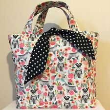 Miniature Schnauzer Dog Print Bag