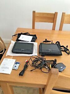 Next Base portable DVD players X 2