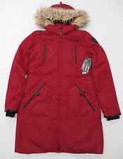 Long Tall Sally Point Zero Down Filled Jacket in Red Size 10-12 Medium NWT $259