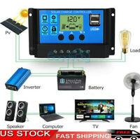 30-60A MPPT Solar Panel Regulator Charge Controller 12v/24V Auto Focus Tracking