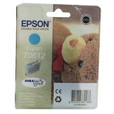 Epson T0612 Cyan Inkjet Cartridge C13T06124010 / T0612 [EP61240]