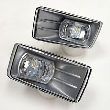 For 07-14 Silverado Tahoe Suburban Clear Fog Driving Lights Lamps Pair LED LH RH