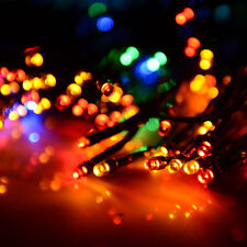 Waterproof String Fairy Light 100 LED Multicolor Solar Power Wedding Party Decor