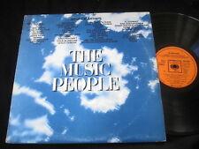 THE MUSIC PEOPLE/BOB DYLAN/JEFF BECK/SPIRIT/GRIN/ARGENT/SANTANA/3XLP/CBS UKPRESS
