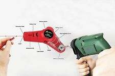 AdirPro Drill Buddy Cordless Dust Collector with Laser Level, Bubble vial, Great