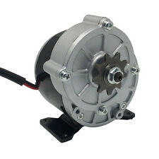 MY1016Z3 Electric Tricycle Brush DC Motor 36V 350W 300RPM 9 Tooth Sprocket
