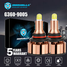 2000W 300000LM 6 Sides LED Headlight Kit High Beam 9005 9145 H10 HB3 6000K Bulb