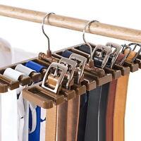 Large Belt Storage Rack Hanging Tie Shelf Silk Scarf Rack Belt Rack Hanger Rack