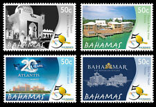 Bahamas 2014 50th Anniversary of Ministry of Tourism 4v set MNH