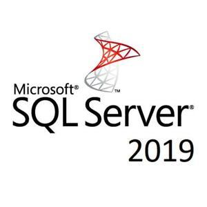 SQL Server 2019 Enterprise License Access Unlimited Cores Unlimited Memory
