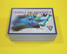 1995 Futera Australian Formula One Grand Prix complete base set 90 cards - mint