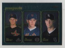 2001 Topps Chrome #597 Roy Oswalt Astros Pat Strange Mets Jon Rauch White Sox
