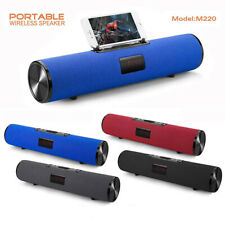 Portable Bluetooth Speaker Column Wireless Sound Music Subwoofer FM Radio USB TF