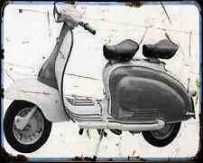 Bajaj Chetak 150 00 03 A4 Metal Sign Motorbike Vintage Aged