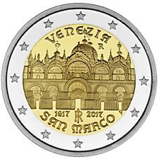 """2017 Italy 2 Euro Uncirculated Coin """"St Mark's Basilica in Venice 400 Years"""""""