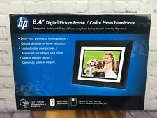 "HP 8.4"" Digital Picture Frame w/ Remote NEW Factory Sealed Dented Box"