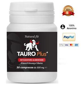 Tauro Plus extra forte. L'ORIGINALE integratore per la virilità maschile.