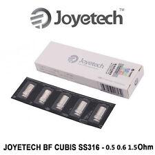 5 Résistances Joyetech BF CUBIS SS316 de 0,5 0,6 1,5 Ohm pour EGO AIO et CUBIS Q