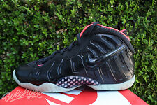 NIKE LITTLE POSITE PRO GS YEEZY SZ 6.5 BLACK LASER CRIMSON 644792 001