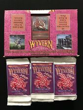 Wyvern Premiere Limited Edition Booster Pack Lot & Display Box