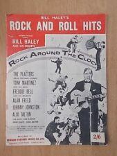 VINTAGE SHEET MUSIC - BILL BALEY - ROCK AND ROLL HITS