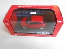 COCHE SEAT IBIZA SC 3 PUERTAS RED 1/43 1:43 IXO MODEL CAR MIB CONCESIONARIO rojo