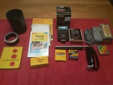 KODAK CANON VIVITAR HONEYWELL CAMERA ACCESSORIES LOT