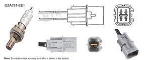 NGK NTK Oxygen Lambda Sensor OZA751-EE1 fits Mitsubishi Pajero 3.8 V6 (NS,NT)